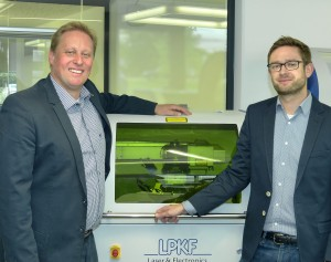 Stephan Krause (left side) and Malte Fengler (right side) will work closely together in their new roles.