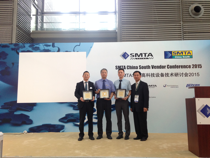 2015 SMTA China Annual Award Winners at the Annual Award Ceremony, held on Tuesday, August 25, 2015 at the Shenzhen Convention & Exhibition Center.