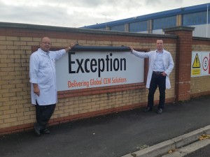Exception L-R, Steve Parks Principal Manufacturing Engineer, Jiri Kucera Engineering Manager (2)