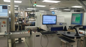 Figure 3. Siemens Manufacturing Co.'s smart reflow oven.