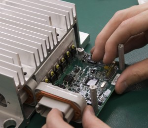 Conformal coating adds a layer of protection to sensitive electronics.