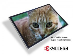 KYOCERA introduces TFT-LCD for Industrial Applications