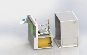 Microfocus X-ray system Y.Cheetah with new manipulation assembly