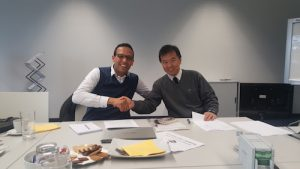 Mr. Rachid Mlouki  and Mr. Soichiro Kamijima