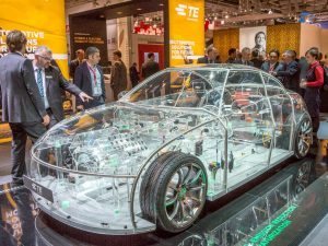 ■ The more than 2,700 exhibitors participating in the exhibition and countless visitors in atAutomotive. One of the top topics at electronica 2016.